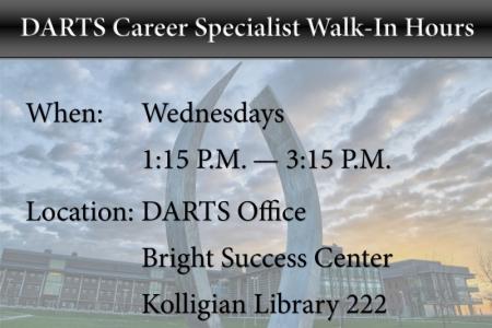 Walk-In Hours - Wednesdays 1:15-3:15 - KL222